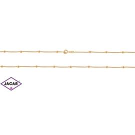 Łańcuszek pozłacany Xuping - kulki - 45cm LAP102