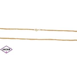 Łańcuszek pozłacany Xuping - kulki - 45cm LAP107