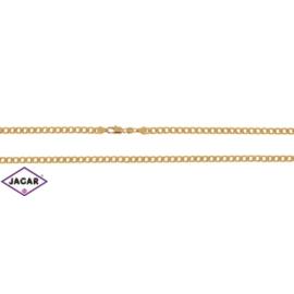 Łańcuszek pozłacany Xuping -pancerka- 50cm LAP113