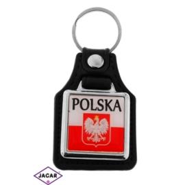 Brelok metalowy - Polska - 5szt/op BM21