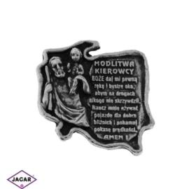 Figurka metalowa - modlitwa kierowcy - FR121