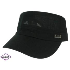 Czapka z daszkiem - czarna - rozm. 56-58 CN90