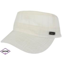 Czapka z daszkiem - biała - rozm. 56-58 CN92