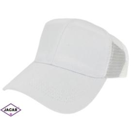 Czapka z daszkiem - biała - rozm. 56-58 CN100