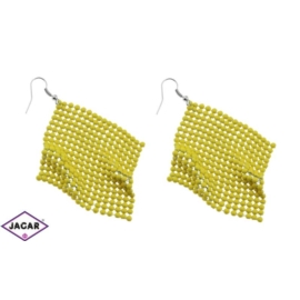 Kolczyki - kolor żółty - EA205
