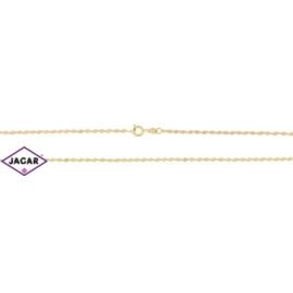 Łańcuszek pozłacany Xuping - kordel - 50cm LAP128