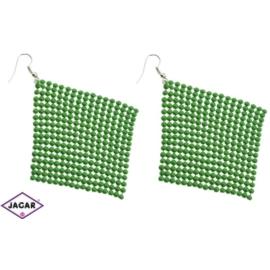 Kolczyki - kolor zielony - EA207