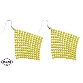Kolczyki - kolor żółty - EA211
