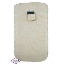 Etui na telefon - beżowe - 17cm x 10cm ET17