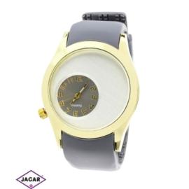 Zegarek silikonowy - szary - śr. 4,5cm Z90