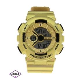 Zegarek męski - złoty - szer: 5,5 cm Z123
