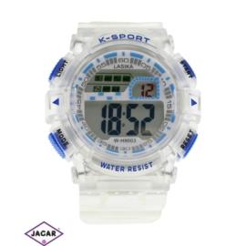 Zegarek męski - niebieski - szer: 5 cm Z126