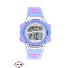 Zegarek dziecięcy - fioletowy - szer: 4 cm Z135