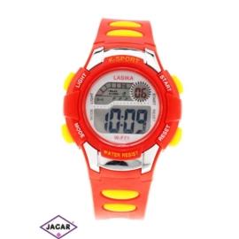 Zegarek dziecięcy - czerwony - szer: 4 cm Z137