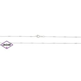 Łańcuszek rodowany - dł: 50cm LAP191
