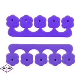 Separator do palców stóp - fiolet - 2szt - PIE12