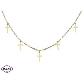 Celebrytka - krzyżyki - dł: 50cm CP254