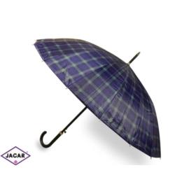Parasol damski, automatyczny - w kratę - PAR11