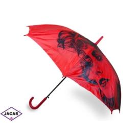 Parasol damski, automatyczny - czerwony - PAR12