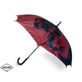 Parasol damski, automatyczny - bordowy - PAR13