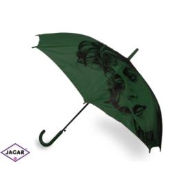 Parasol damski, automatyczny - zielony - PAR16