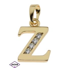 Przywieszka pozłacana Xuping - litera Z - PRZ281