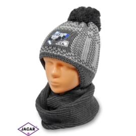 Komplet czapka i szalik - chłopak - CN125