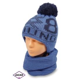 Komplet czapka i szalik - chłopak - CN131