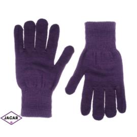Klasyczne rękawiczki damskie - fiolet - RK276