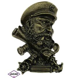 Magnes metalowy - kapitan - MM17