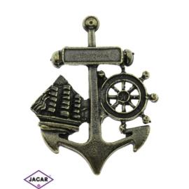 Magnes metalowy - pamiątka z nad morza - MM28
