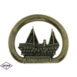 Magnes metalowy - pamiątka z nad morza - MM39