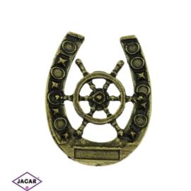 Magnes metalowy - pamiątka z nad morza - MM40