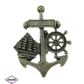 Magnes metalowy - pamiątka z nad morza - MM50