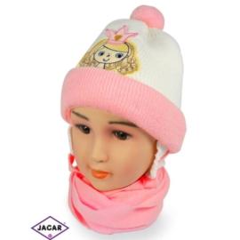 Komplet czapka i szalik - CN152