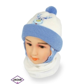 Komplet czapka i szalik - chłopak - CN153