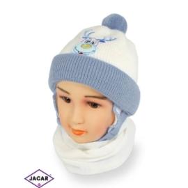 Komplet czapka i szalik - chłopak - CN154