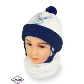 Komplet czapka i szalik - chłopak - CN156