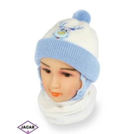 Komplet czapka i szalik - chłopak - CN157