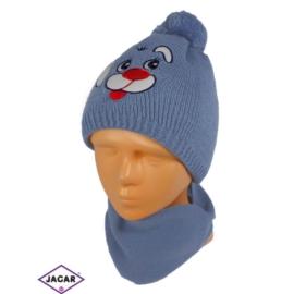 Komplet czapka i szalik - chłopak - CN158