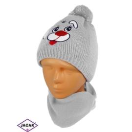 Komplet czapka i szalik - chłopak - CN160