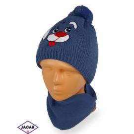 Komplet czapka i szalik - chłopak - CN161