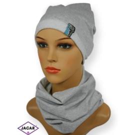 Damski komplet czapka i szalik - CD145