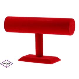 Ekspozytor bransoletki - czerwony - wys:16cm EKS03