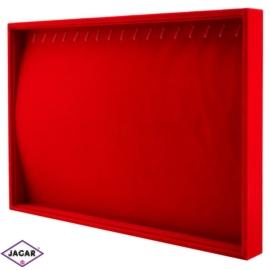 Ekspozytor na bransoletki-czerwony wys:36cm EKS09