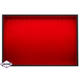 Ekspozytor na bransoletki- czerwony wys:36cm EKS14