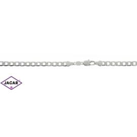 Łańcuszek rodowany - dł: 60cm LAP304