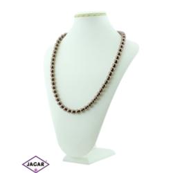 Naszyjnik perła brązowa - PER1 - 43/62