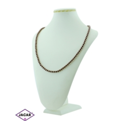 Naszyjnik perła brązowa - PER8 - 43/51