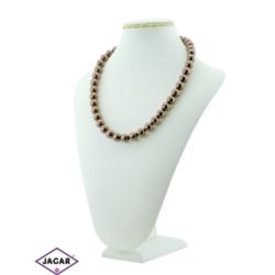 Naszyjnik perła brązowa - PER9 - 43/65